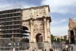 arch under construction