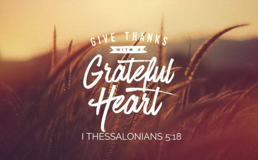 Day Two: Give Thanks in Trials